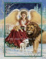 Angel Lion and Lamb