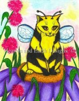 Buzz Bubble Bee Fairy Cat
