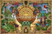 Supersized Mayan Aztec Montage Max Color